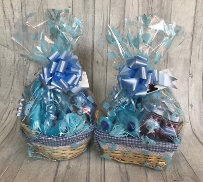 Baby Gift Hamper / Gift Basket - Boy / Baby Shower / New Baby Gift / Nappy Cake