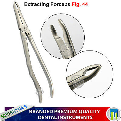 Surgical Upper Tooth Roots Extraction Forceps No.44 Molar Removal Professional