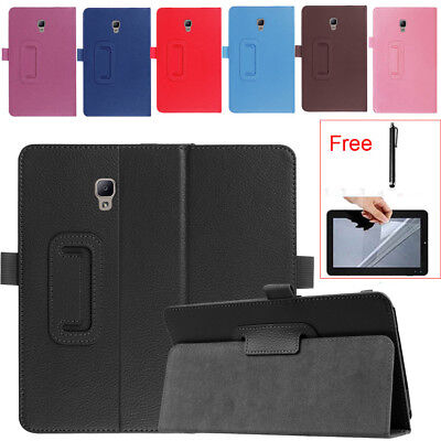 "For Samsung Galaxy Tab A 8"" SM-T380 T385 2017 Smart Leather Case Cover Free Film"