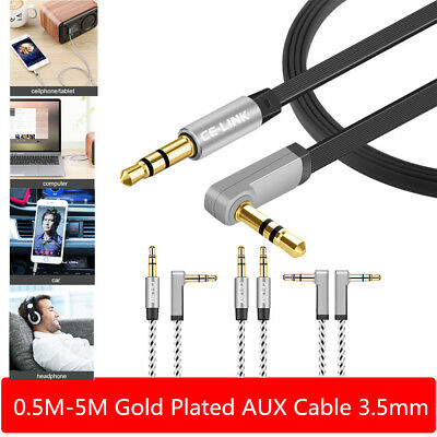 3.5mm AUX Cable Stereo Audio Input Extension Male to Male Auxiliary Car Cord