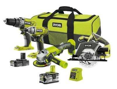 Ryobi ONE+ 18-Volt Lithium-Ion Ultimate Combo Kit (4-Tool) Platform Battery Tool