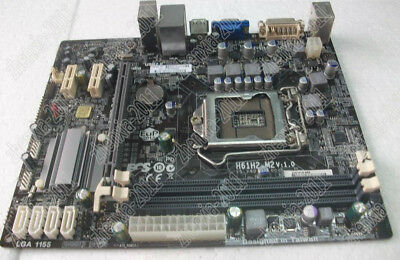 1PC USED ECS H61H2-M2 fully integrated motherboard