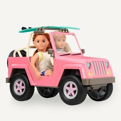 Our Generation Dolls Vehicle Off Roader Truck 4X4 Car Doll Accessories Playset