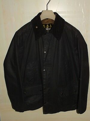 barbour bedale jacket waxed cotton  coat  + inner pile grey c40/102 m