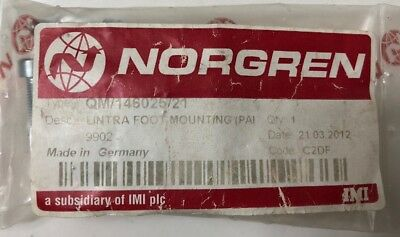 Norgren Lintra Foot Mounting            Qm/146025/21  New
