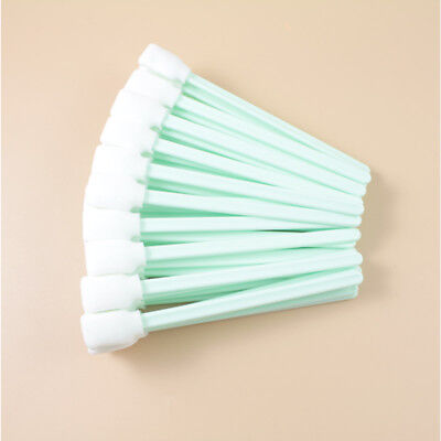 100pcs Foam Tip Cleaning Swabs for Epson Roland Mimaki Mutoh Format Printer