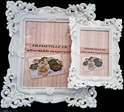 Baroque Shabby Chic Photo Frame Vintage Rococo Style Wedding Gift Placecard Home