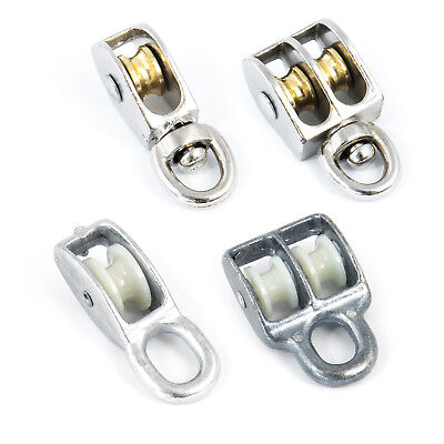 ROPE PULLEY BLOCKS lifting pulling load construction sailing rescue transport