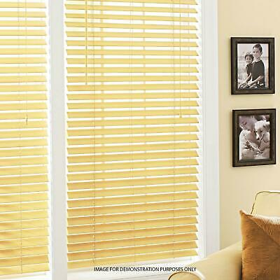 Pvc Wood Wooden Grain Effect Venetian Window Blind / Blinds Home Office Easy Fit