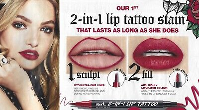 NEW OUT - Avon Mark 2 In 1 Lip Tattoo  Stain