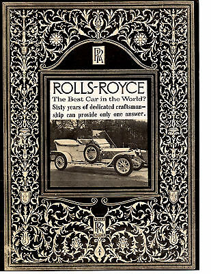 Rolls-Royce - The Best Car In The World? ~  Original 6-Page 1959 Article