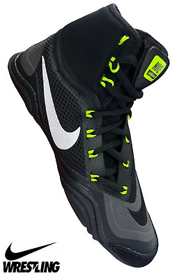 b932682071c Nike Hypersweep Men s Wrestling Shoes Boxing MMA Combat Sports Shoes Boots  Black