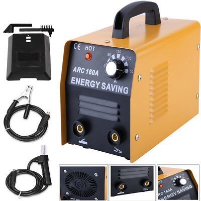 NEW 160 AMP ARC Welding Machine Welder 230V W/ Free Face Mask Accessory Kit US