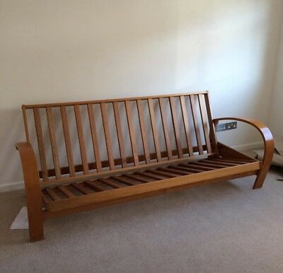 Wooden Sofa Bed Three Seater Includes Mattress 90 00