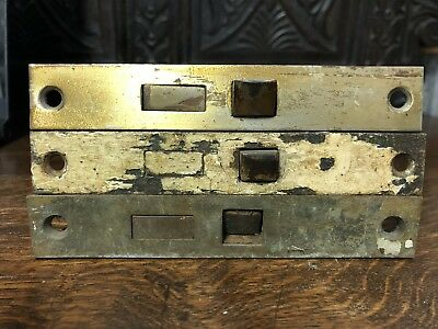 3 vintage Mortise door locks