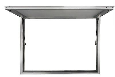 "48"" X 36"" Concession Stand Serving Window Door Food Truck Service - No Glass"