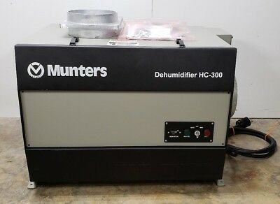Low Hour Munters Cargocaire Hc-300 Desiccant Dehumidifier 3Ph 440/480V 828Hrs
