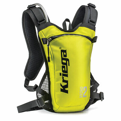 Kriega Hydro 2 Yellow Backpack Motorcycle Hydration Pack 2L - Free Shipping