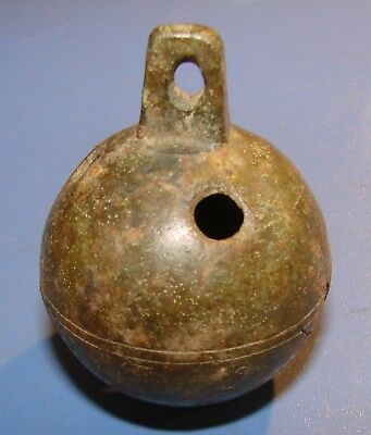 ANCIENT BELL FOR ANIMALS. Bronze. Original