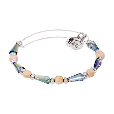Alex And Ani Seeds of Promise Expandable Beaded Bangle Bracelet A15EB31RS