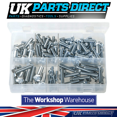 Assorted Box of Set Screws - High Tensile - Metric - 150 Pieces