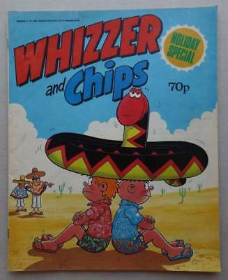 Whizzer and Chips Holiday Special comic 1988 VG/Fine (phil-comics)