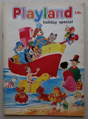 Playland Holiday Special comic 1969 VG/Fine (phil-comics)
