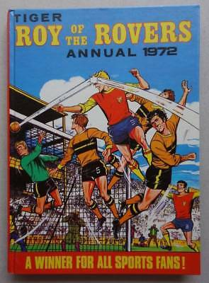 Roy of the Rovers Comic Annual 1972 Tiger FN+ (phil-comics)