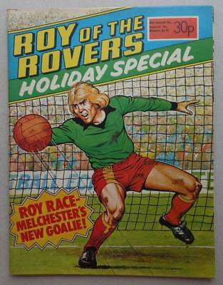 Roy of the Rovers Holiday Special comic 1978 FN/FN+ (phil-comics)