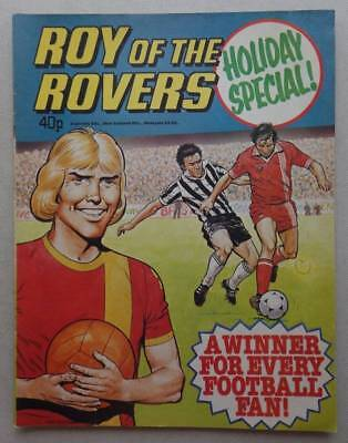 Roy of the Rovers Holiday Special comic 1979 FN/FN+ (phil-comics)