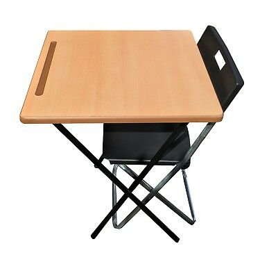 Folding exam classroom camping Laptop Coffee bistro market stall Table & chair