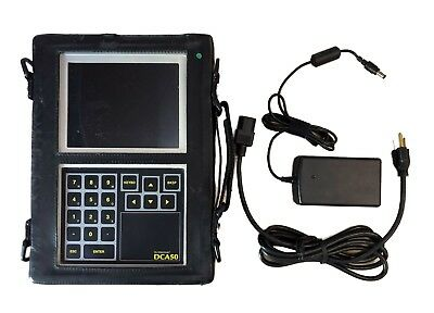 DLI Watchman DCA50 Real-Time Analyzer Data Collector w/Case & batteries (screen)