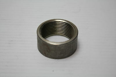 "1 1/4"" 1.25"" NPT 316 SS Stainless Steel Thread Half Coupling New"