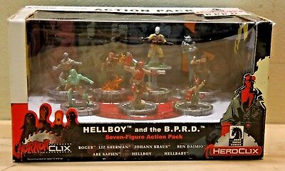 HorrorClix Heroclix Hellboy and the B.P.R.D. Action Pack  Dark Horse (New)