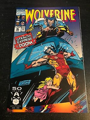 Wolverine#40 Incredible Condition 9.4(1991) Silvestri Art!!