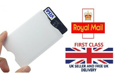 5X RFID Blocking Sleeve Credit Card Protector Holder Wallet Contactless UK Stock