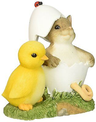 Enesco Charming Tails You're One Of A Kind! Easter Figurine Collectible New Nib