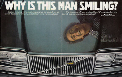 1979 Volvo: Why Is This Man Smiling Vintage Print Ad