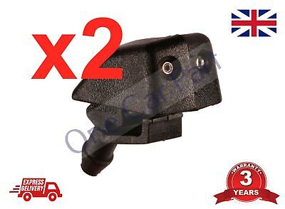 2x Renault 19 FRONT WINDSCREEN  Washer Nozzle Jet