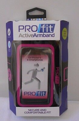 Pro/Fit Active Armband -Fits all Arms XS-XL Comfortable Fit -iPhone 6 PINK