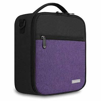 Lunch Box with Firm Foil-BPA FREE,Amersun Original Reusable Insulated Lunch Bag