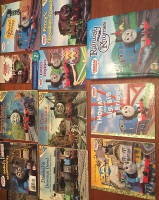Thomas & and Friends Thomas The Tank Engine Train ELEVEN Book Lot Golden Books