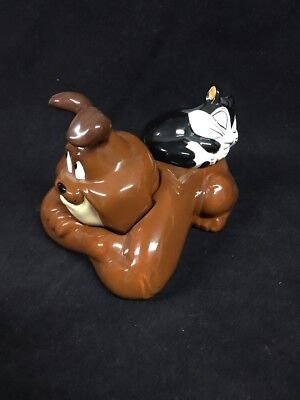 marc anthony & pussyfoot salt and pepper shakers Looney Tunes WB Mint Warner SG1