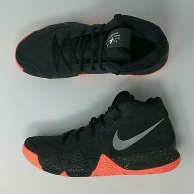 Nike KYRIE 4 Venus Flytrap Mens Basketball Shoes Black Orange 943806 010 NEW