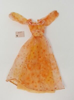 Vtg Barbie Christy Kissing Peach Dress Envelope Accessories Clothes 1978 Rare