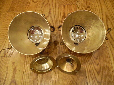 1922 1923 1924 1925 Wills St Claire Pair Cowl Head Light Lamp Assembly