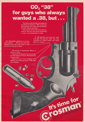 1973 Crosman 38: For Guys Who Always Wanted a 38 Vintage Print Ad