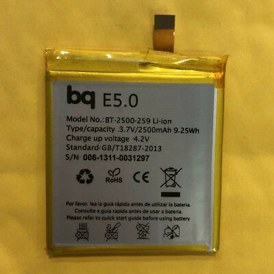 BT-2500-259 New Genuine 2500mAh Battery for BQ Aquaris E5.0 E5 FHD E 5 HD