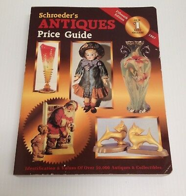 ⭐️1996 Bob Huxford Illustrated Schroeder's Antiques Price Guide -15Th Edition ⭐️