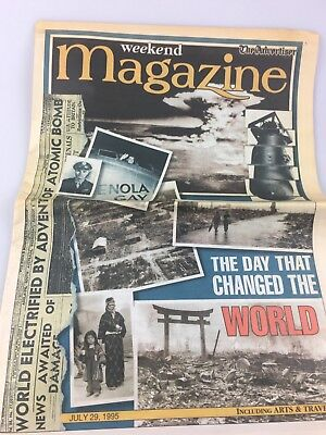 Newspaper Supplement - The Day That Changed The World - 1985 - World War 11